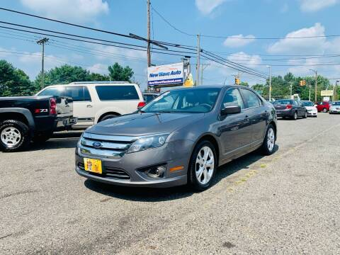 2012 Ford Fusion for sale at New Wave Auto of Vineland in Vineland NJ