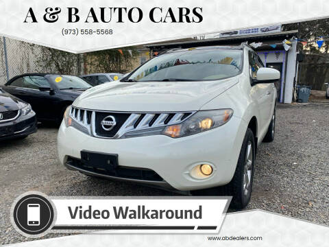2010 Nissan Murano for sale at A & B Auto Cars in Newark NJ
