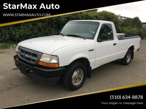 1999 Ford Ranger for sale at StarMax Auto in Fremont CA