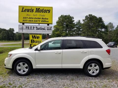 2012 Dodge Journey for sale at Lewis Motors LLC in Deridder LA
