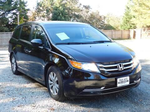 2014 Honda Odyssey for sale at Prize Auto in Alexandria VA
