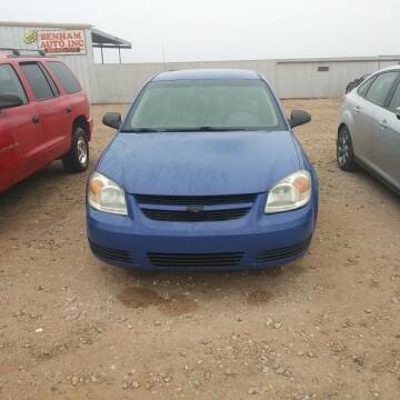 2008 Chevrolet Cobalt for sale at BENHAM AUTO INC in Lubbock TX
