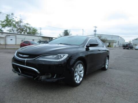 2015 Chrysler 200 for sale at Grays Used Cars in Oklahoma City OK