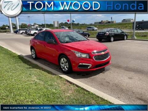 2015 Chevrolet Cruze for sale at Tom Wood Honda in Anderson IN