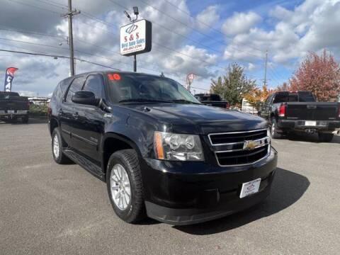 2010 Chevrolet Tahoe Hybrid for sale at S&S Best Auto Sales LLC in Auburn WA