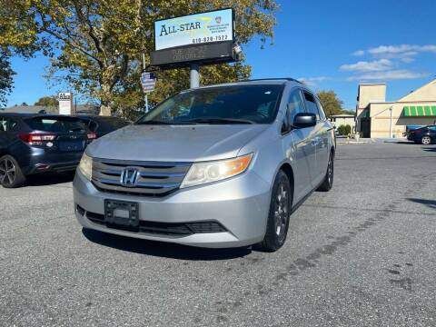 2011 Honda Odyssey for sale at All Star Auto Sales and Service LLC in Allentown PA