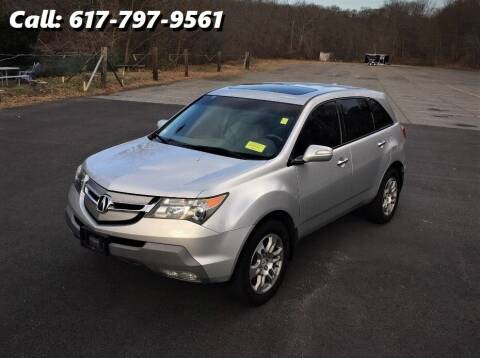 2009 Acura MDX for sale at Wheeler Dealer Inc. in Acton MA