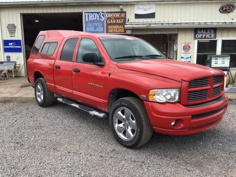 2005 Dodge Ram Pickup 1500 for sale at Troys Auto Sales in Dornsife PA