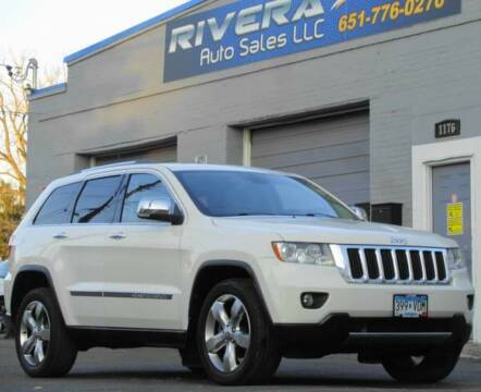 2011 Jeep Grand Cherokee for sale at Rivera Auto Sales LLC in Saint Paul MN