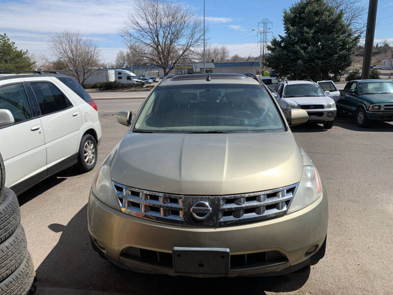 2005 Nissan Murano for sale at Highbid Auto Sales & Service in Arvada CO