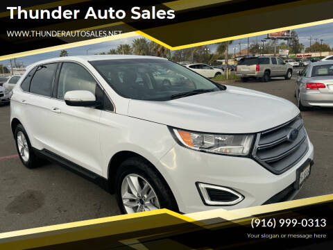 2017 Ford Edge for sale at Thunder Auto Sales in Sacramento CA