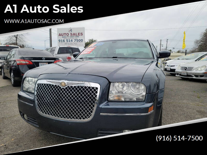 2007 Chrysler 300 for sale at A1 Auto Sales in Sacramento CA