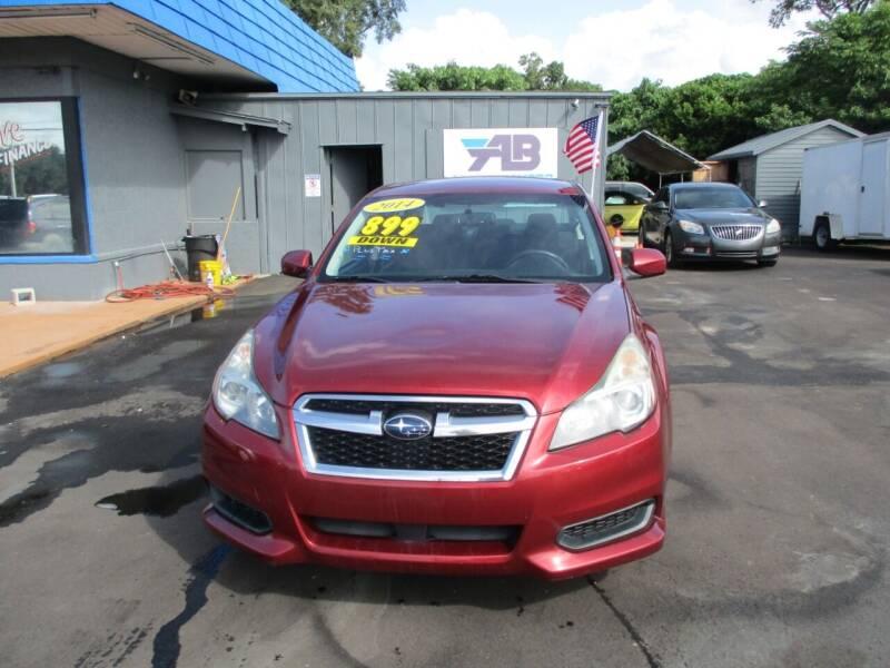 2014 Subaru Legacy for sale at AUTO BROKERS OF ORLANDO in Orlando FL