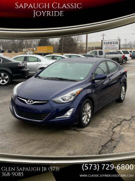 2014 Hyundai Elantra for sale at Sapaugh Classic Joyride in Salem MO