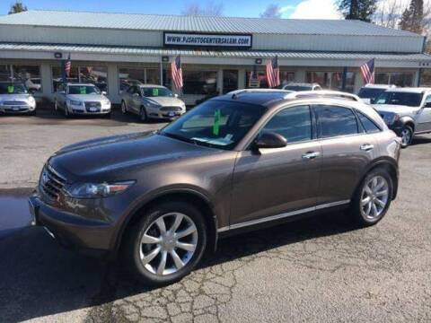 2007 Infiniti FX35 for sale at PJ's Auto Center in Salem OR
