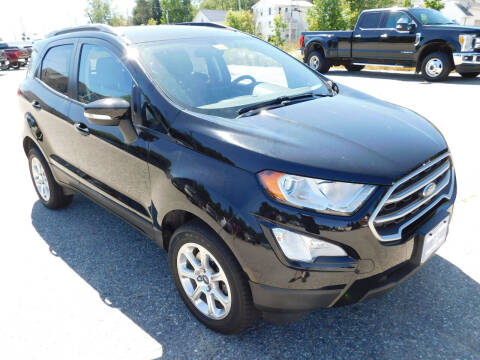 2018 Ford EcoSport for sale at Ripley & Fletcher Pre-Owned Sales & Service in Farmington ME