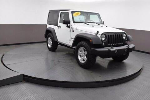 2016 Jeep Wrangler for sale at Hickory Used Car Superstore in Hickory NC