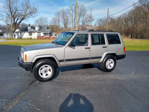 2000 Jeep Cherokee for sale at Depue Auto Sales Inc in Paw Paw MI