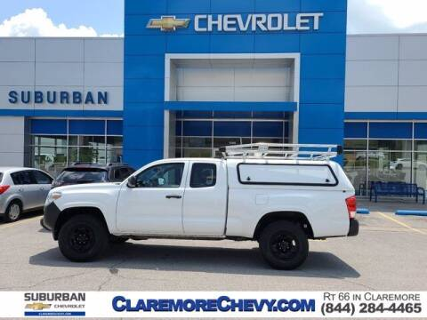 2017 Toyota Tacoma for sale at Suburban Chevrolet in Claremore OK