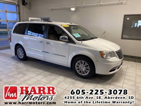 2011 Chrysler Town and Country for sale at Harr's Redfield Ford in Redfield SD