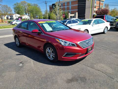 2016 Hyundai Sonata for sale at Costas Auto Gallery in Rahway NJ