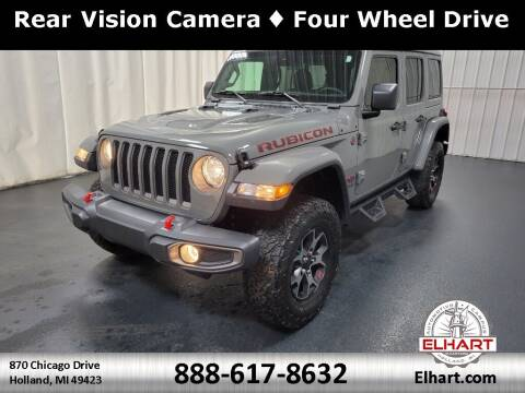 2019 Jeep Wrangler Unlimited for sale at Elhart Automotive Campus in Holland MI