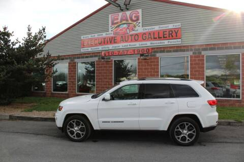 2018 Jeep Grand Cherokee for sale at EXECUTIVE AUTO GALLERY INC in Walnutport PA