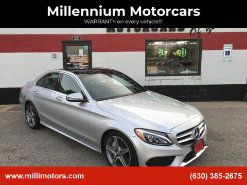 2016 Mercedes-Benz C-Class for sale at Millennium Motorcars in Yorkville IL