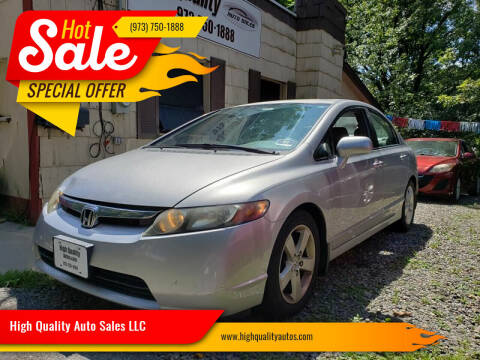 2008 Honda Civic for sale at High Quality Auto Sales LLC in Bloomingdale NJ