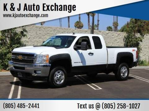 2011 Chevrolet Silverado 2500HD for sale at K & J Auto Exchange in Santa Paula CA