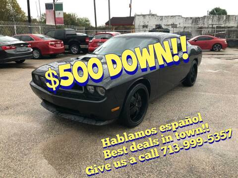 2010 Dodge Challenger for sale at Saipan Auto Sales in Houston TX