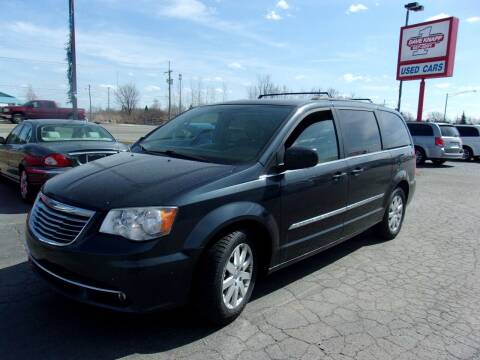 2014 Chrysler Town and Country for sale at DAVE KNAPP USED CARS in Lapeer MI