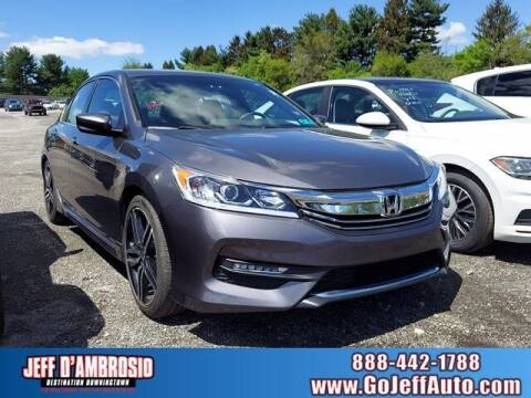 2017 Honda Accord for sale at Jeff D'Ambrosio Auto Group in Downingtown PA
