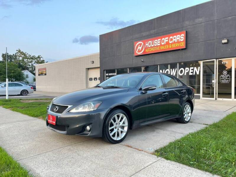 2011 Lexus IS 350 for sale at HOUSE OF CARS CT in Meriden CT