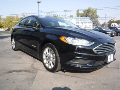 2017 Ford Fusion Hybrid for sale at Platinum Auto Sales in Provo UT