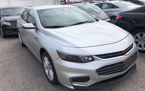 2016 Chevrolet Malibu for sale at Auto Access in Irving TX