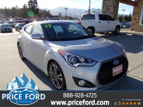 2017 Hyundai Veloster for sale at Price Ford Lincoln in Port Angeles WA