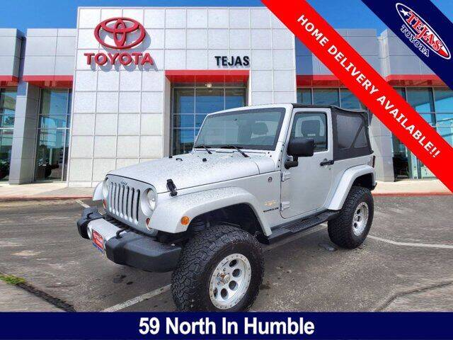 2008 Jeep Wrangler for sale at TEJAS TOYOTA in Humble TX