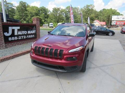 2017 Jeep Cherokee for sale at J T Auto Group in Sanford NC