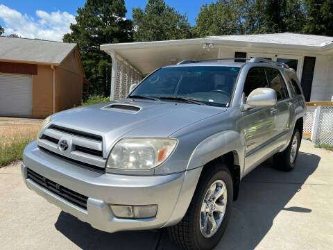 2004 Toyota 4Runner for sale at Efficiency Auto Buyers in Milton GA