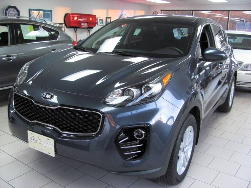 2018 Kia Sportage for sale at Kens Auto Sales in Holyoke MA