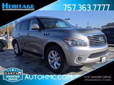 2011 Infiniti QX56 for sale at Heritage Motor Company in Virginia Beach VA