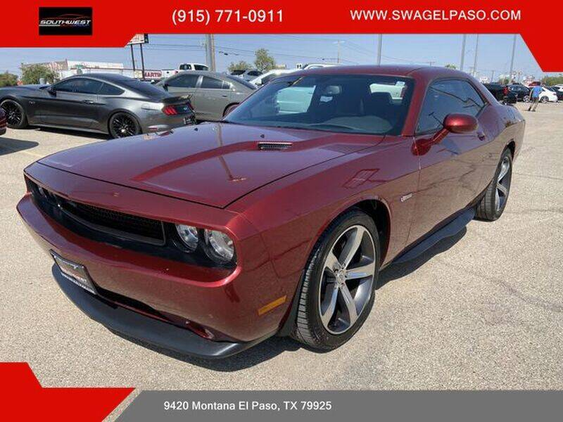 2014 Dodge Challenger for sale at SOUTHWEST AUTO GROUP-EL PASO in El Paso TX