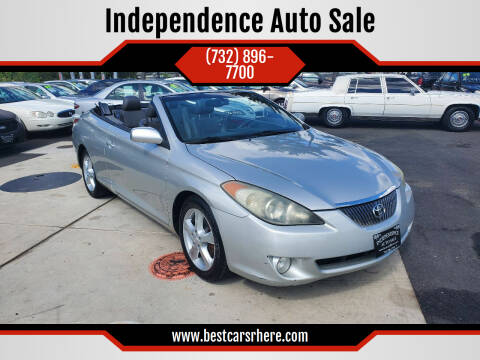 2006 Toyota Camry Solara for sale at Independence Auto Sale in Bordentown NJ