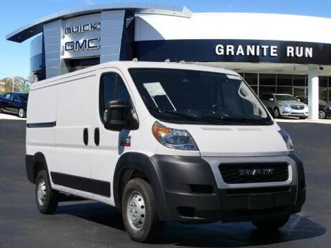 2019 RAM ProMaster Cargo for sale at GRANITE RUN PRE OWNED CAR AND TRUCK OUTLET in Media PA