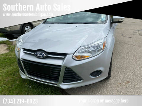 2014 Ford Focus for sale at Southern Auto Sales in Clinton MI