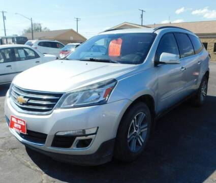 2016 Chevrolet Traverse for sale at Will Deal Auto & Rv Sales in Great Falls MT