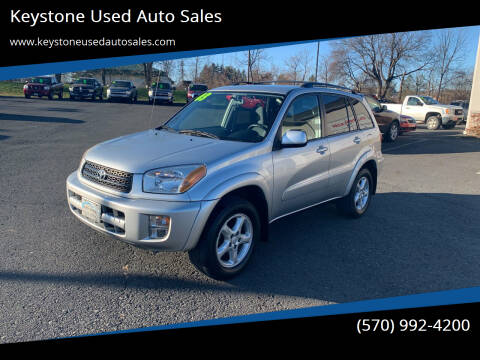 2003 Toyota RAV4 for sale at Keystone Used Auto Sales in Brodheadsville PA