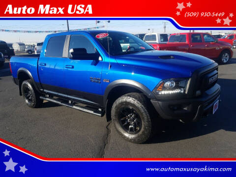 2017 RAM Ram Pickup 1500 for sale at Auto Max USA in Yakima WA