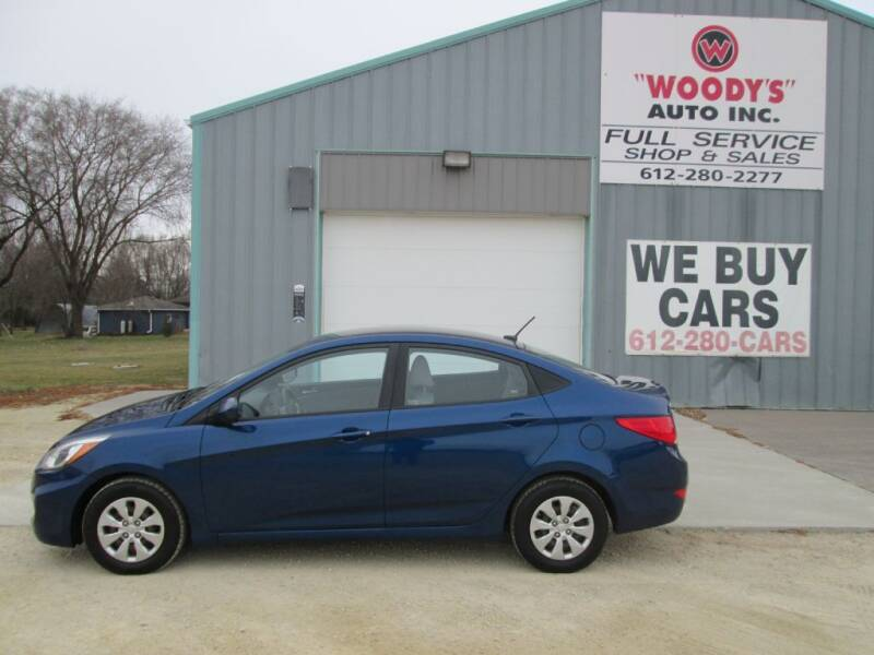 2015 Hyundai Accent for sale at Woody's Auto Sales Inc in Randolph MN